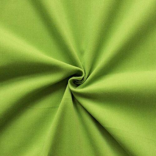 100/% Baumwollstoff Feincord Babycord Cordstoff Lind Grün 140cm breit Meterware