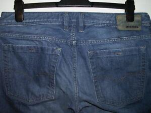 Zatiny L34 a3675 0888b Wash Jeans W34 Diesel Bootcut F7UwdTq