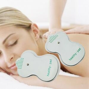 10Pcs-Electrode-Pads-For-Tens-Acupuncture-Digital-Therapy-Machine-Massager-NEW