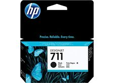 HP 711 Black 38ml ink Cartridge CZ129A  Designjet T120 T520 inc VAT