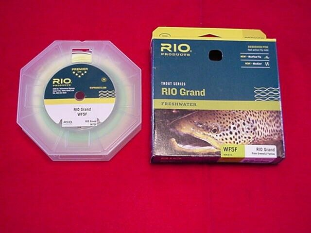 Rio Fly Line Grande WF5F Fly Line GREAT NEW