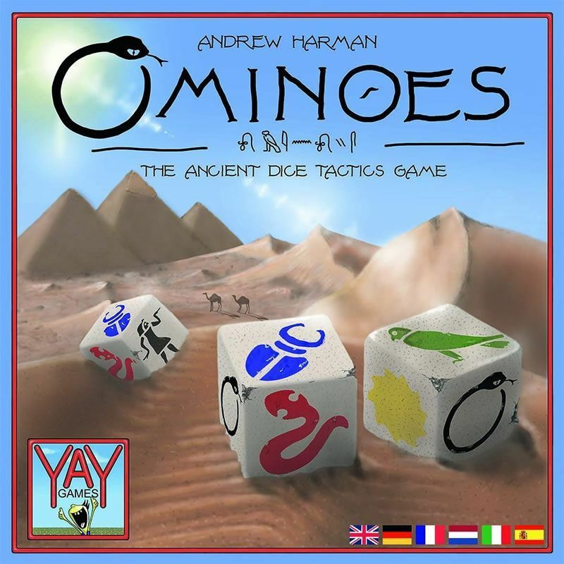OMINOES THE ANCINET DICE TACTICS GAME