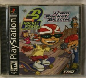 Rocket Power Team Rocket Rescue Ps1 Playstation Game Complete W Manual 752919470572 Ebay