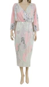 ASOS-CURVE-Ladies-Fully-Embellished-Midi-Party-Kimono-Cocktail-Dress-UK-18-46