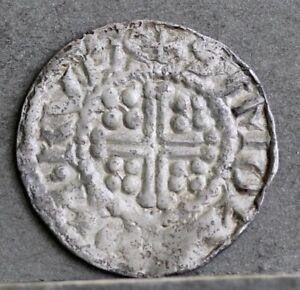 Henry II / Richard I Welsh Hammered Silver Penny, SIMOND ON RVLA. Rhuddlan Mint