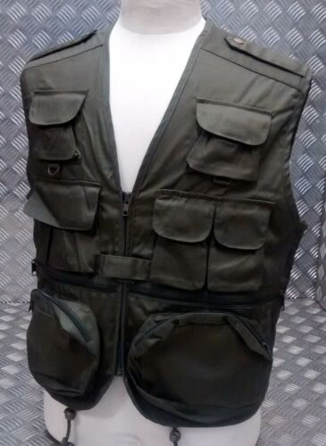 Fishing Hunters Photographers Multi Pocket Vest Military All Colours All Sizes
