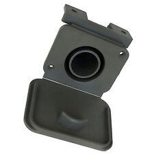 28mm WASTE WATER OUTLET SOCKET &FLAP suit 28.5mm CONVOLUTED HOSE or PIPE CARAVAN