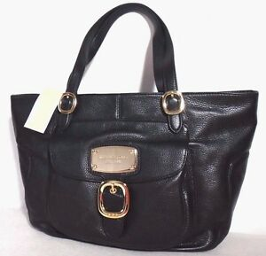 b4419f1f8fbd Image is loading NWT-Michael-Kors-Hudson-DownTown-Large-Lether-Tote-
