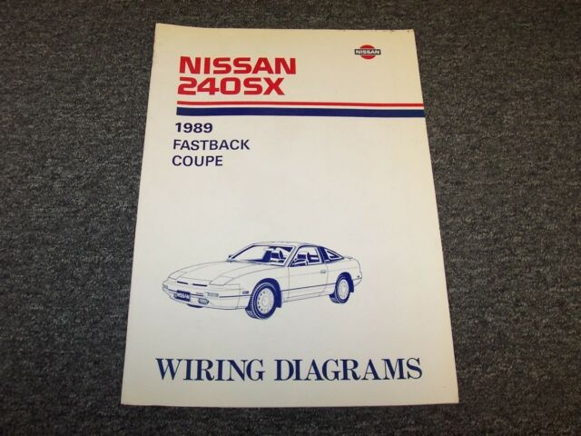 1989 Nissan 240sx Coupe  U0026 Fastback Electrical Wiring