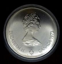 Canada 10 Dollars 1973 CH BU silver KM#86.1 $10 1976 Montreal Olympics COA