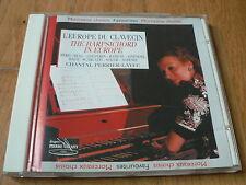 Perrier-Layec - L'Europe du Clavecin - Harpsichord in Europe - Byrd, Couperin CD