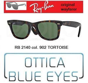 OCCHIALI DA SOLE UOMO DONNA RAY BAN RB 2140 1163
