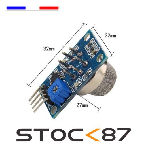 5255# 1 à 10pcs module capteur//détecteur Gaz MQ-2 Arduino gas smoke sensor