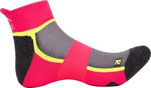 Billiger Preis More Mile Bamboo Comfort Cushioned Womens Running Socks - Pink Ein GefüHl Der Leichtigkeit Und Energie Erzeugen