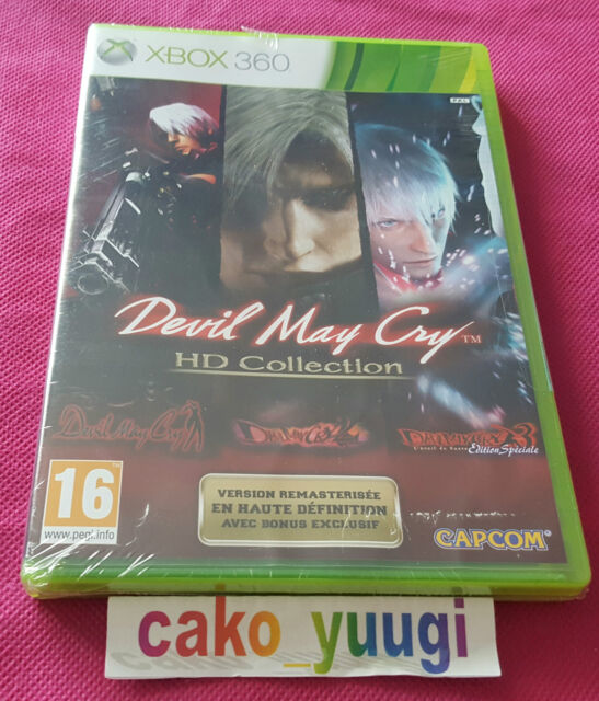 DEVIL MAY CRY HD COLLECTION XBOX 360 NEUF SOUS BLISTER NON OFFICIEL FRANCAIS