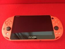 USED PlayStation Vita Wi-Fi Model Neon Orange (PCH-2000ZA24) only console  F/S
