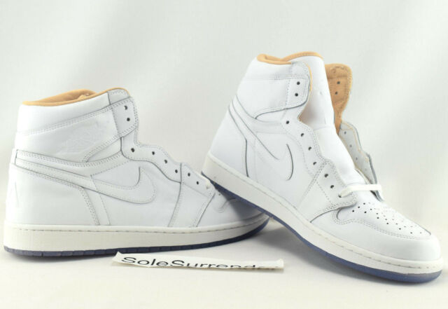 1a0ceb037ce5 Nike Air Jordan 1 Retro High OG La 23 White Los Angeles 819012-130 Size 14