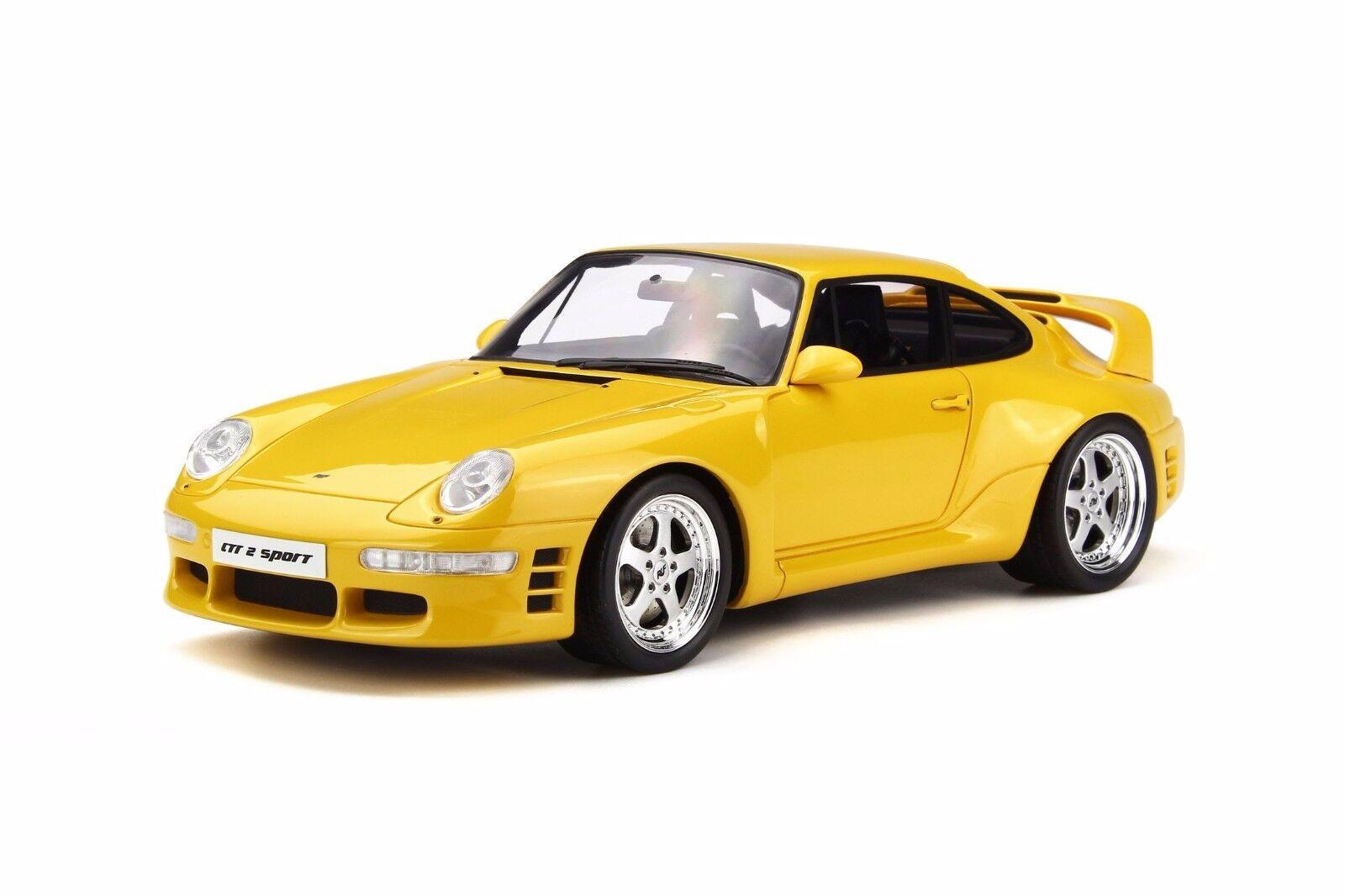 GT Spirit 1 18 Porsche 911 993 RUF CTR 2 Sport Yellow GT141