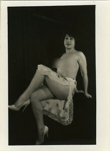 3398cacac PHOTO ANCIENNE - VINTAGE SNAPSHOT -FEMME SEXY PIN UP LINGERIE ...
