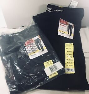 New-Signature-Levi-Mens-S26-Modern-Fit-Skinny-Stretch-Black-Jeans-40-x-30