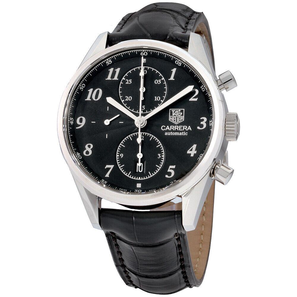 Tag Heuer Carrera Automatic Movement Black Dial Men's Watch CAS2110.FC6266   Ebay