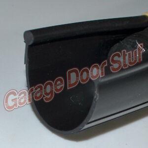 Garage Door Rubber Seal >> Garage Door Weather Seal - Bottom Seal Bead Type - BLACK PVC - NEW | eBay