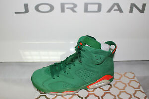 online store f5222 207d7 Details about Nike Jordan 6 Retro Gatorade Green AJ5986-335, Size 8.5
