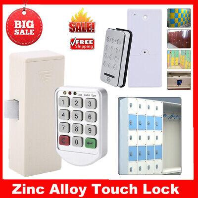 Touch Keypad Password Lock RFID Card Security Electronic Cabinet Locker Lock