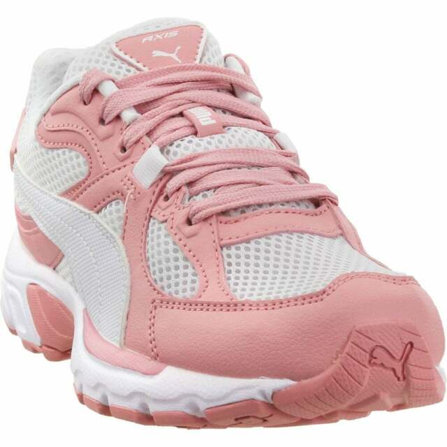 Puma Axis Plus 90S Lace Up  Mens  Sneakers Shoes Casual   - Pink