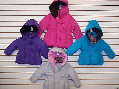 Toddler /& Girls YMI Assorted Plush Jackets w// Frill Size 12 Months-5//6 Infant