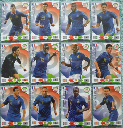 Adrenalyn XL Road to 2014 World Cup Brazil Card Selection France