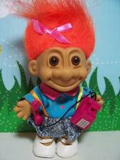 "GIRL w/OLD FASHIONED TELEPHONE - 5"" Russ Troll Doll - NEW IN ORIGINAL WRAPPER"