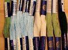 Fil à broder PERLE 10 - lot de 10 échevettes, coloris assortis N°5