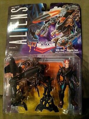 Science Fiction & Horror Adaptable Kenner Toy Action Figure 1992 Aliens Space Marine Atax 65711 Complete Sealed