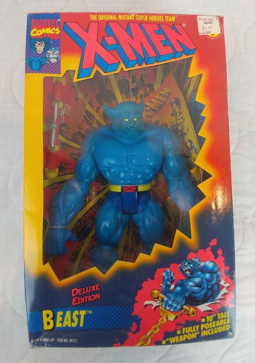 X-MEN 10  Beast Action Figure 1994 Toy Biz