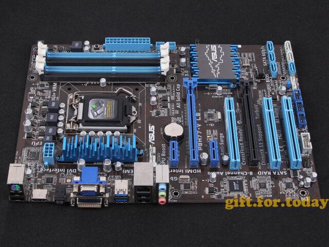Original ASUS P8H77-V LE Intel H77 Motherboard LGA 1155 H2 DDR3