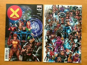 X-MEN-1-2019-Main-Cover-Bagley-Every-Mutant-Ever-Variant-Set-DX-Marvel-NM