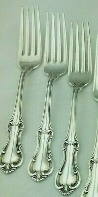 More Available INTERNATIONAL Sterling Silver JOAN OF ARC Flatware Dinner Fork