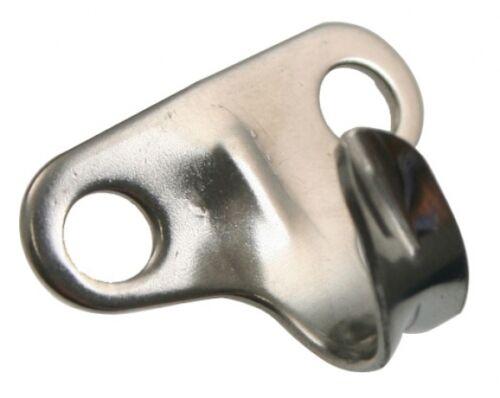 Reffhaken Laschhaken Haken Kleiderhaken Handtuchhaken Edelstahl A2  29mm