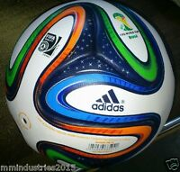 ADIDAS BRAZUCA THERMAL BONDED A+ SOCCER MATCH BALL | FIFA WORLD CUP 2014 SIZE 5