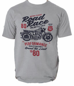 T-Shirt-Motorcycle-Biker-Mens-Motorcycles-Sizes-S-New-2-Motorbike-S-3XL