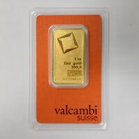 1 oz Valcambi Gold Bar in Assay Card Mississauga / Peel Region Toronto (GTA) Preview