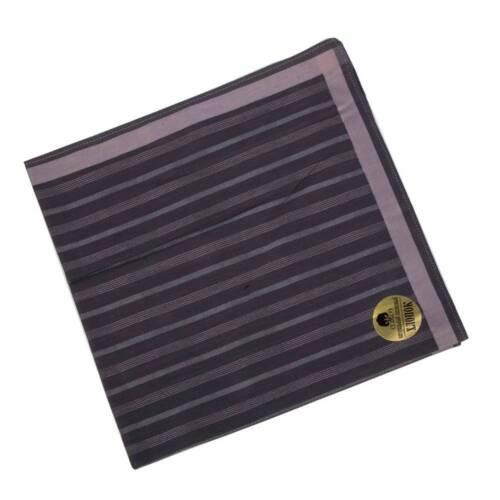43cm*43cm Fashion Classic Plaid Stripe Men Pure Cotton Square Handkerchief