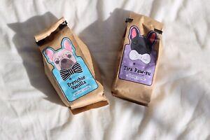 Brewing-Sisters-coffee-company-Frenchie-Vanilla-and-Tira-paw-su