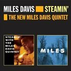 Steamin'/The New Miles Davis Quintet by Miles Davis/Miles Davis Quintet (CD, Oct-2012, Ais)