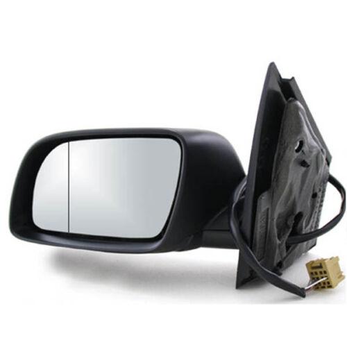 01 bis 05 Spiegel Außenspiegel  elektrisch schwarz heizbar Links VW Polo 9N Bj