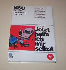 Reparaturanleitung / Handbuch NSU 1000/C, NSU 110/1200/C, NSU TT/TTS !