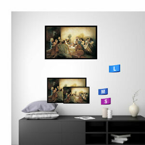 Large Modern Contemporary Canvas Wall Art Print Oil Painting Last Supper