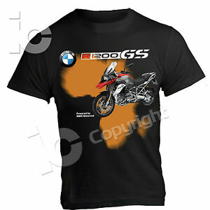 t shirt bmw gs 1200 power by motorrad adventure outdoor. Black Bedroom Furniture Sets. Home Design Ideas