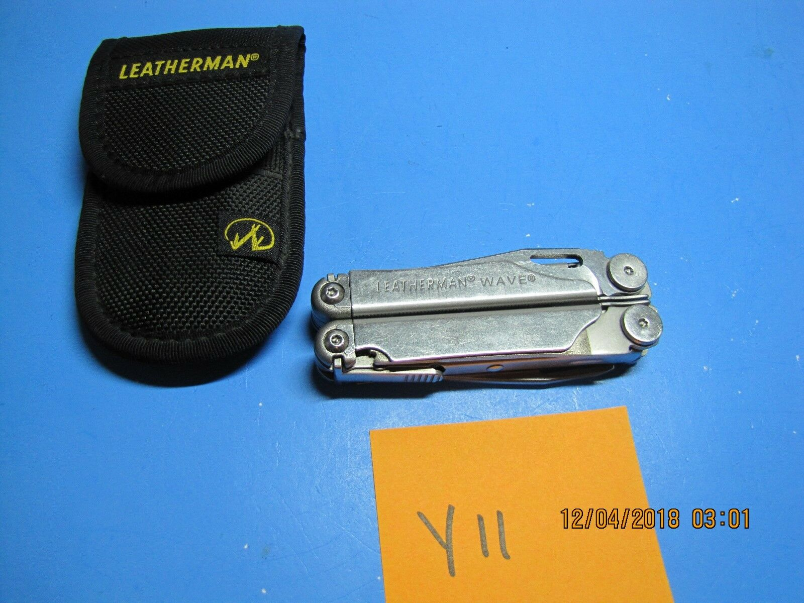 Lederman WAVE  Full-Größe Multi-Tool    TSA  Y11  NICE Gift   LOT Y11  2ef436